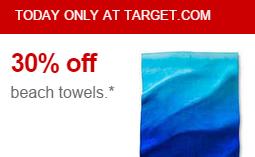 target beachtowel