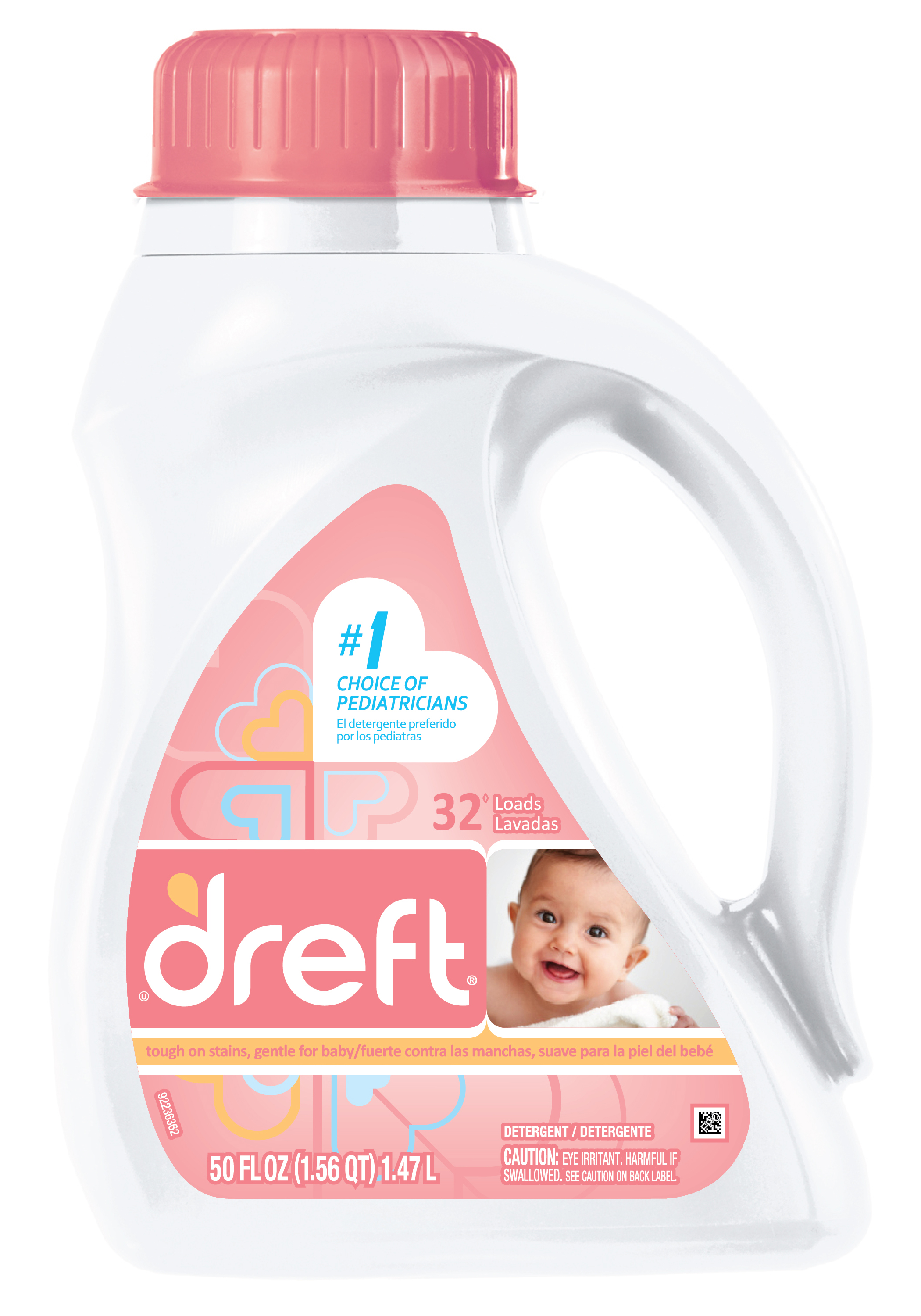 image about Dreft Printable Coupon titled Refreshing Printables* Dreft Detergent (excl. Stain Remover Demo