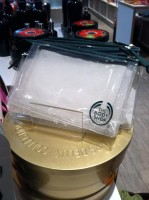 FREE Body Shop Bags / Coupon Holders