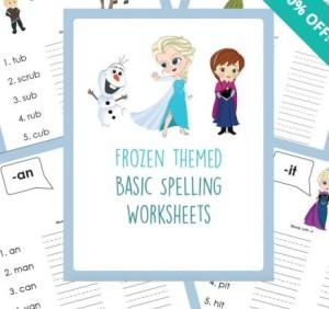 frozen spelling