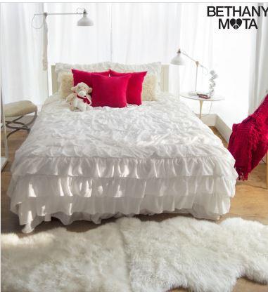 ruffle bed