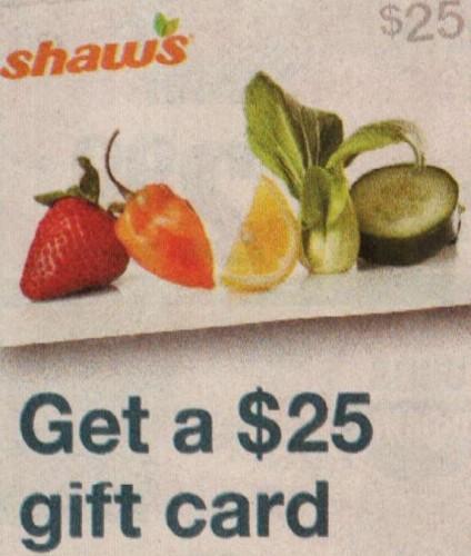 shaws gift card