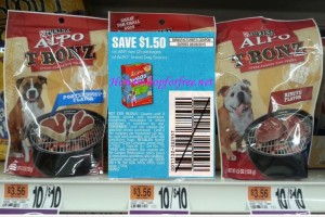 Alpo Dog Treats only .25 at Stop & Shop!