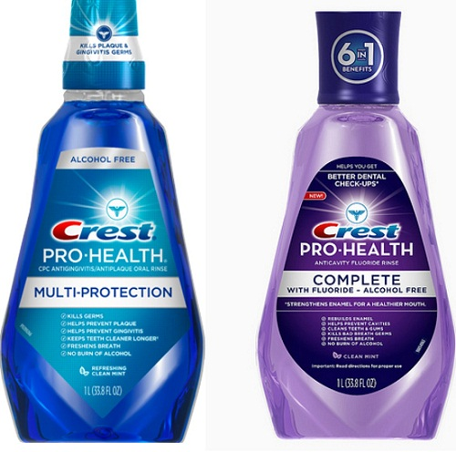 Free Crest Pro Health Mouth Rinse At Rite Aid How To