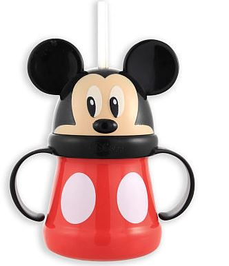 mickey straw cup