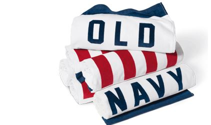 old navt beach towel