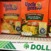 50¢ Country Inn Rice @ Dollar Tree with New Coupon!