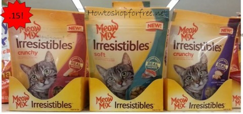 meow mix irresistibles
