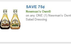 *RESET* .75/1 Newman's Own Salad Dressing