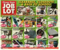 Job Lot Ad 8/10-16 ~Clearance, Closeout & Crazy Deals.. OH MY!