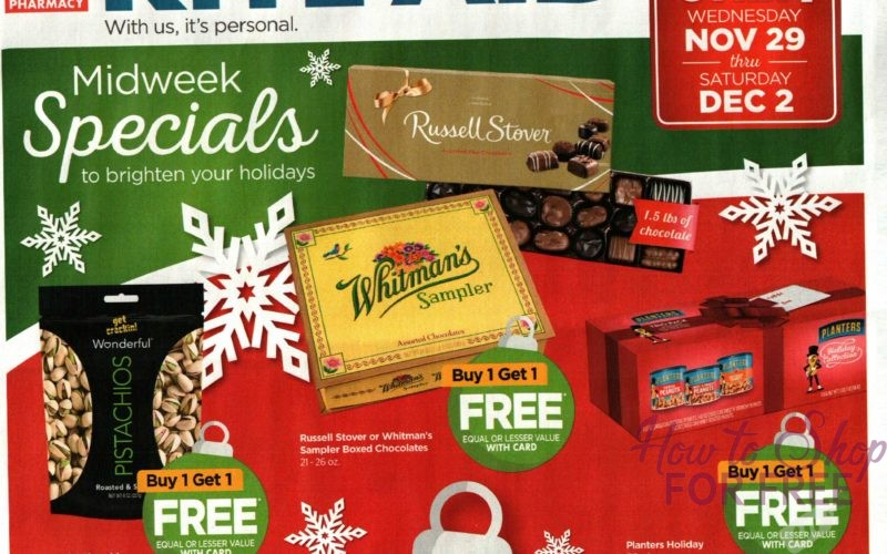 Rite Aid Midweek Specials~ 11/29 – 12/2 ONLY!