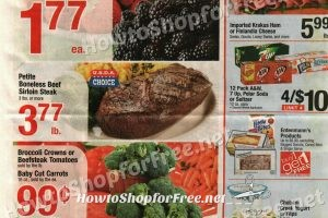 Shaw's Full Size Ad Scan ~ June 9-15
