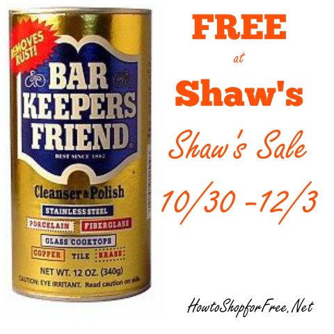 free bar keepers friend