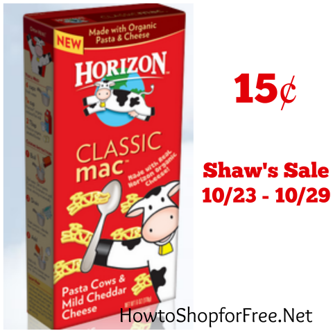 horizon mac Shaw's