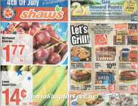 Shaw's Ad Scan  6/30 – 7/5