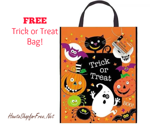trick treat bag