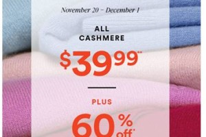 Ann Taylor Factory Outlet Black Friday Deal!