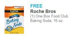Free Baking Soda at Roche Bros!