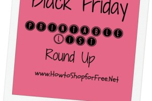 Black Friday Printable Master List   ~Covering over 85 Stores!!!