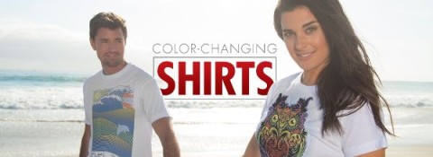 color change shirt