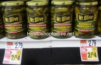 Mt. Olive Pickles only .50 at Stop & Shop!