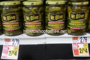 Mt. Olive Pickles only .50 at Stop & Shop!