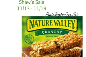 Nature Valley Granola Bars 88¢