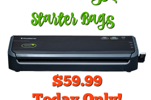$59.99 SHIPPED! FoodSaver System & Starter Roll of Bags **Today Only**