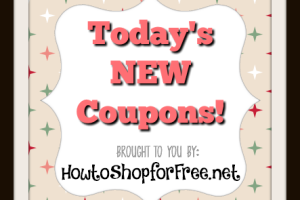 Monday's NEW Coupons!