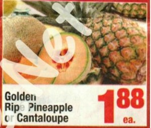 pineapple sale