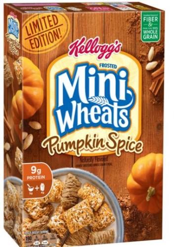 pumpkin spice mini wheats