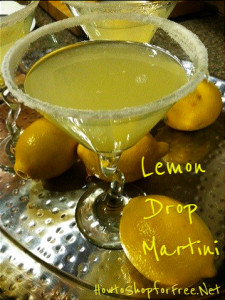 Perfect Lemon-Drop Martini Recipe for Any Holiday Party!