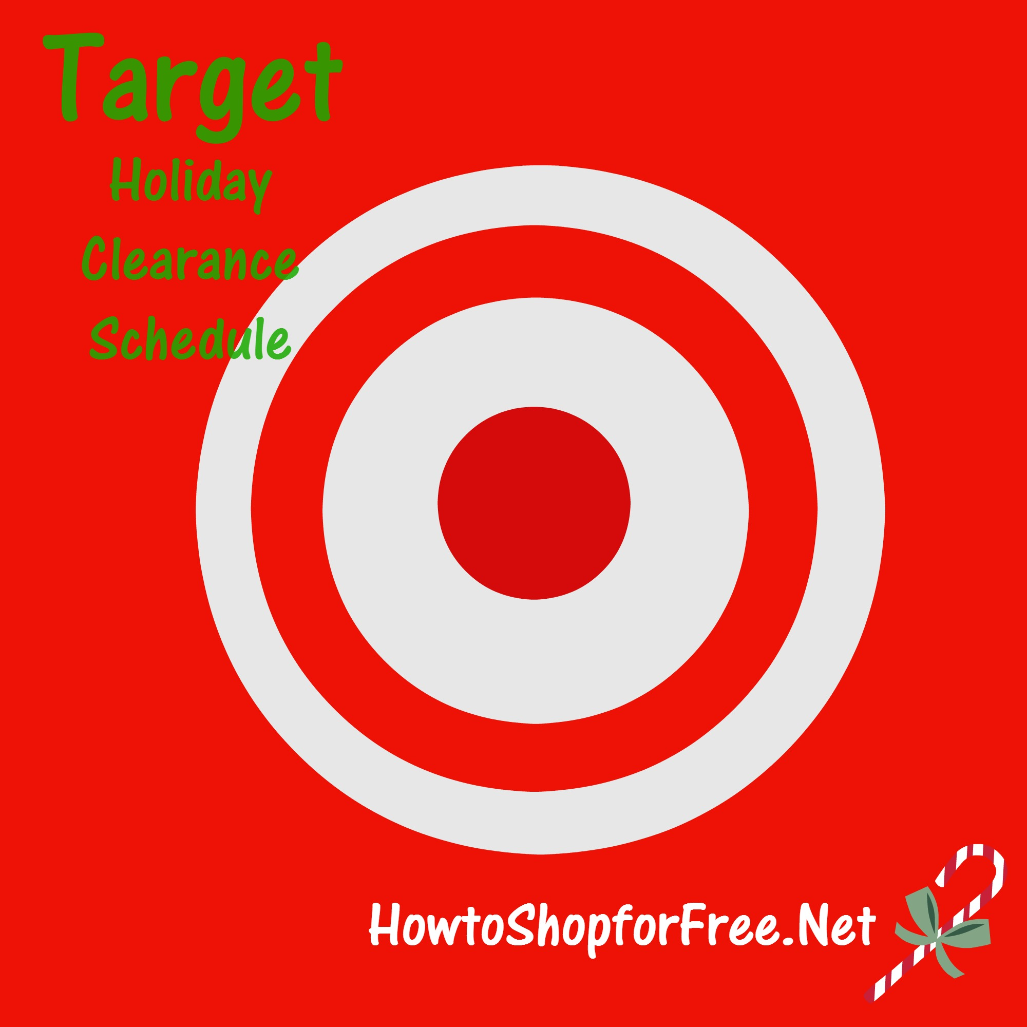 Target Holiday Clearance Schedule | How to Shop For Free with ...