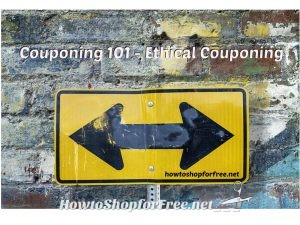 Couponing 101 – Ethical Couponing
