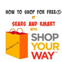 How to Shop for FREE with Shop Your Way Rewards at Sears and Kmart