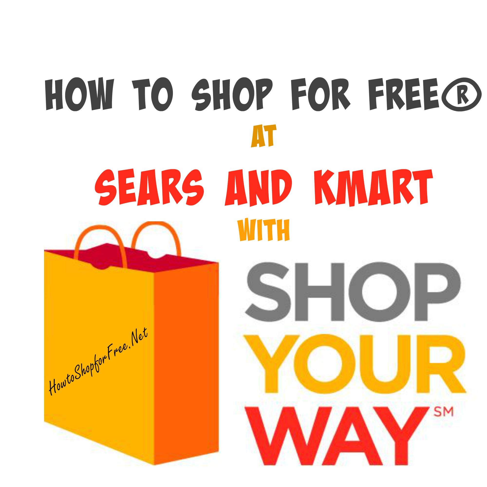 FREE with Shop Your Way Rewards at Sears and Kmart | How to Shop For ...