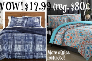"$17.99 ""Bed in a Bag"" (reg. $80) WHOA!"