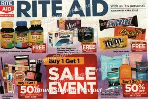 Rite Aid Shoppers ~ AD SCAN for April 23-29!