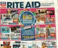Rite Aid FULL SIZE Ad Scan ~ May 21-27