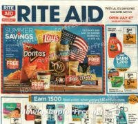 Rite Aid Ad Scan Preview, July 2-8