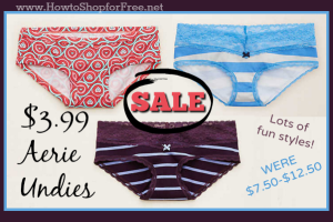 $3.99 Aerie Panties ~ Cute & Comfy *HOT SALE*