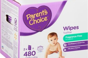 $3 Parent's Choice 480ct. Baby Wipes (YMMV)