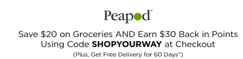 peapod offer