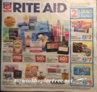 So Early!!   ~Rite Aid Ad Scan 8/6 -8/12