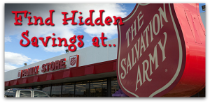 Find Hidden Savings at Salvation Army!