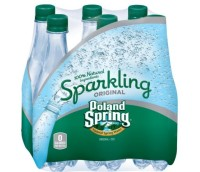Poland Spring Sparkling Water $1.00 at Shaw's