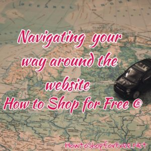 Navigating Your Way Around the Website