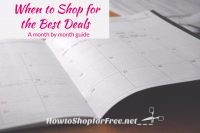 Couponing 101 – When to Shop for the Best Deals