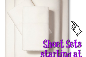 Sheet Sets as low as $5.98 ~ HOT DEAL!