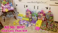 Ash + 90% off Easter Clearance = I Think I Went Overboard!